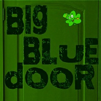 st patrick big blue door
