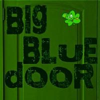 st patrick big blue door