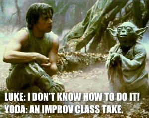improv yoda