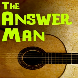 Answer Man Graphic