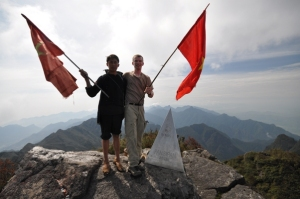 flags on mtn