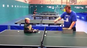 ping pong w dad
