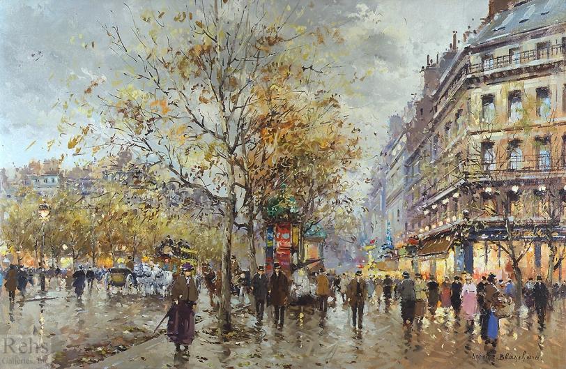 le boulevard du paris