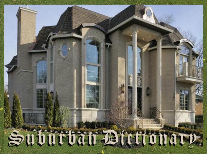 suburban dictionary