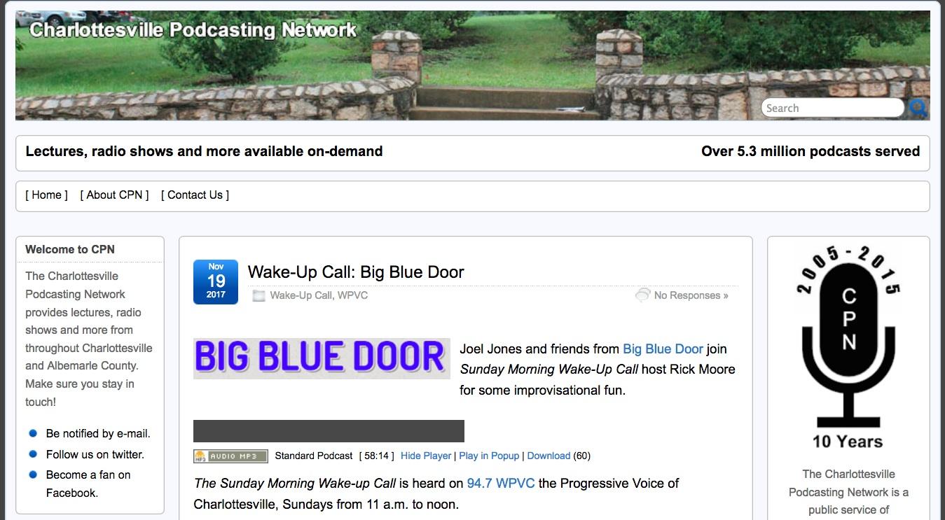 sc 1 st  Big Blue Door & Wake Up Call | Big Blue Door